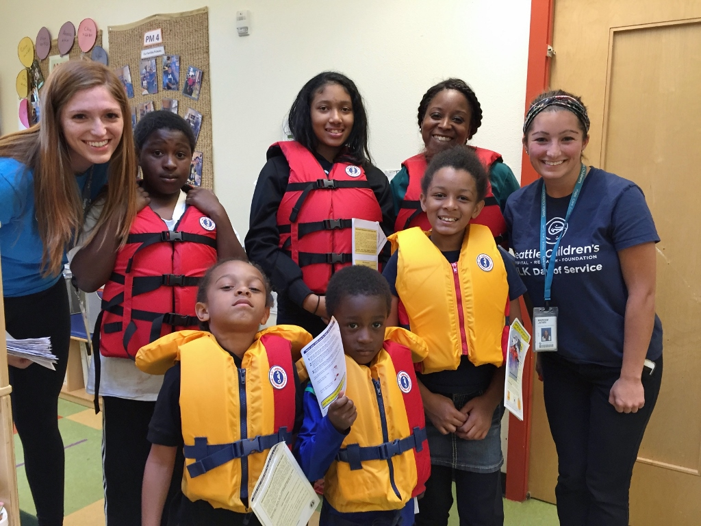 Seattle Children's Water Safety Event at DLEC
